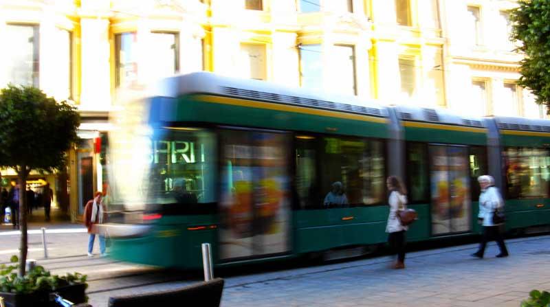 Urban ekspedisjon til Helsinki